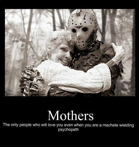 Jason Voorhees and His Mommy